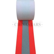 芳纶荧光红阻燃警示带