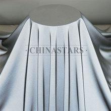 薄型亮银单面弹力布