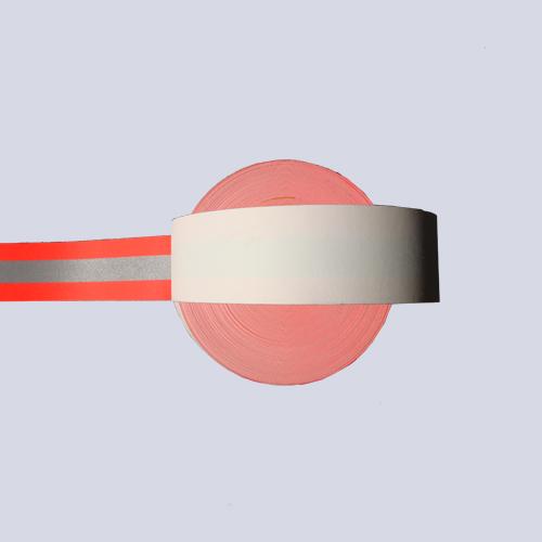 荧光红阻燃警示带